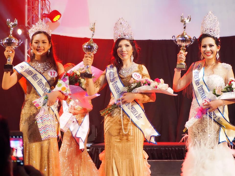 Michelle Huỳnh bất ngờ đăng quang Hoa hậu doanh nhân tại Mỹ