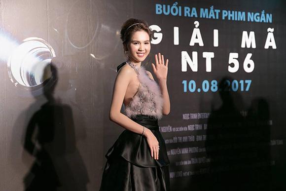 Buổi ra mắt phim ngắn 'Giải mã NT56' do Ngọc Trinh đầu tư sản xuất và đóng vai chính