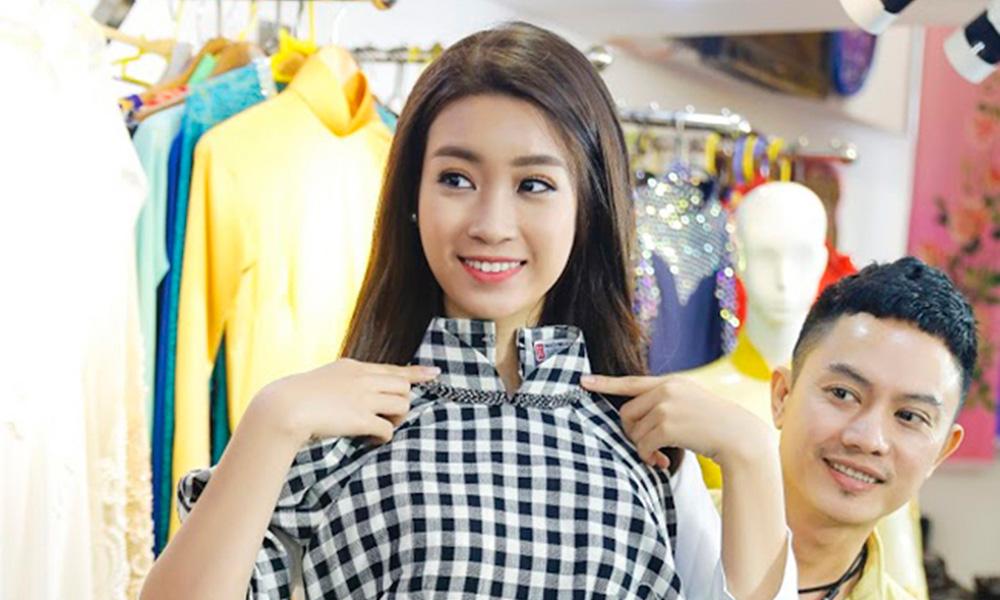 Ngô Nhật Huy thiết kế trang phục cho Đỗ Mỹ Linh tham gia cuộc thi Miss World tại Trung Quốc