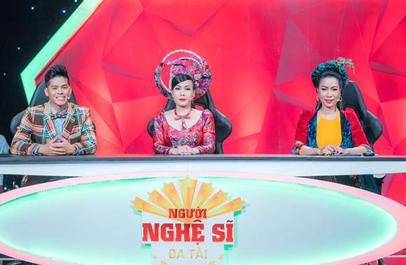Chương trình Người nghệ sĩ đa tài chào đón sự xuất hiện đầy ấn tượng của Á hậu – NSƯT Trịnh Kim Chi