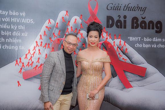 Á hậu - NSƯT Trịnh Kim Chi đồng hành cùng giải thưởng Dải băng đỏ 2017