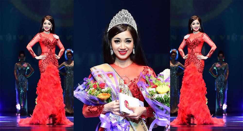 Hoa hậu Đông Nam Á gọi tên Trần Hồng Tươi