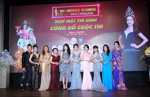 Phương Uyên gương mặt sáng giá của cuộc thi Hoa hậu Doanh nhân Hoàn Vũ 2018