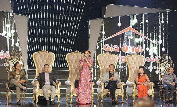 Gia đình nghệ thuật – Chương trình giải trí đặc sắc hướng đến những giá trị văn hóa gia đình truyền thống Việt Nam
