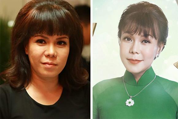 Nghi án Danh hài Việt Hương phẫu thuật thẩm mỹ trẻ như tuổi 20