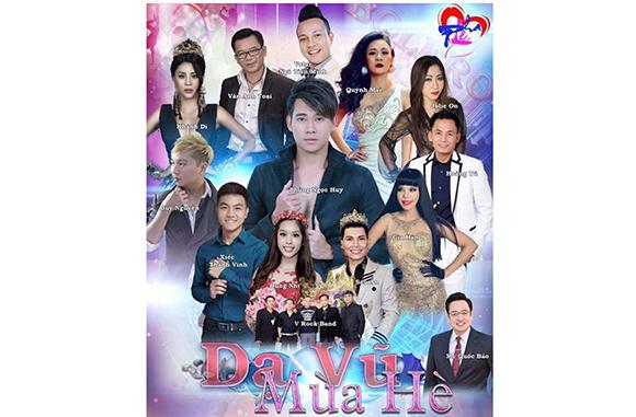 Hoa hậu, ca sĩ Gia Hân  quyên góp tiền ủng hộ diễn viên Mai Phương ngay trong show diễn có Phùng Ngọc Huy