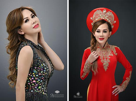 Á hậu Tracy Nguyễn Trẻ đẹp vạn người mê