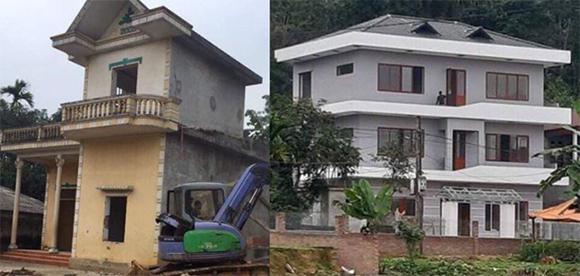 Hà Đức Chinh xây nhà mới ba tầng cho mẹ