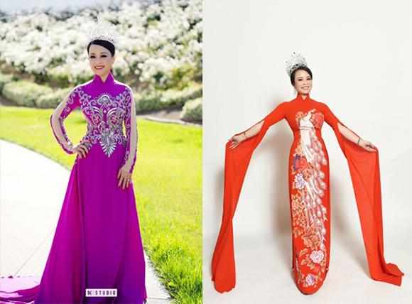 Hoa hậu Phu nhân Sandy Nguyễn trở lại rạng rỡ với vai trò giám khảo tại Thái Lan