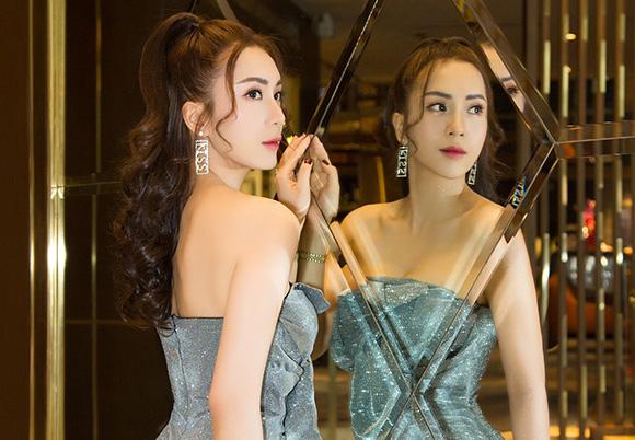 Á khôi Nguyễn Thùy Chi chia sẻ bí quyết giữ nhan sắc tuyệt sắc giai nhân.
