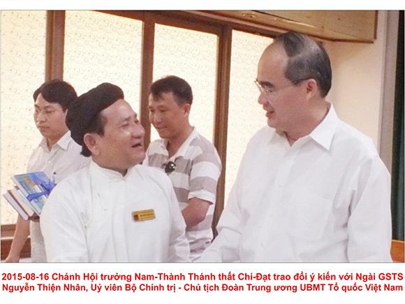 Thạc sĩ Nguyễn Hữu Nhơn góp y tâm thư đến lãnh đạo TP. Hồ Chí Minh